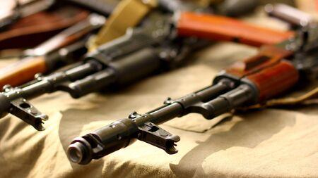 ソ連は、軍の背景 AK74 アサルト ・ ライフル