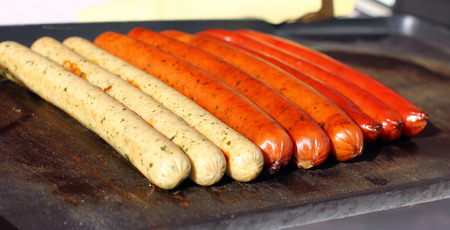 Sausages for hot dog
