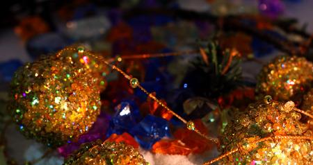 celebrat: New year golden Garland