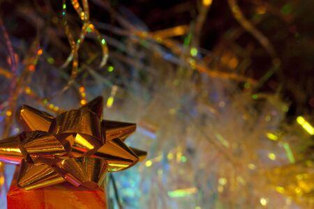 Gift  at  New  year 版權商用圖片 - 70926174