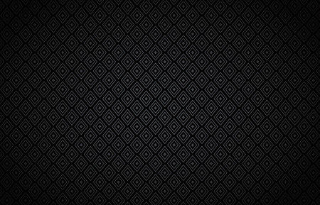 Rhombus black vector background.