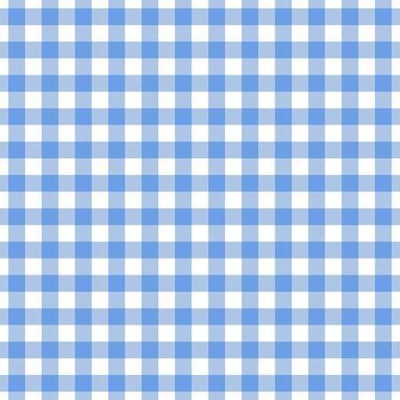 Modèle sans couture de nappe bleue à carreaux. Arrière-plan de conception à carreaux Vichy pour la conception d'impression textile.