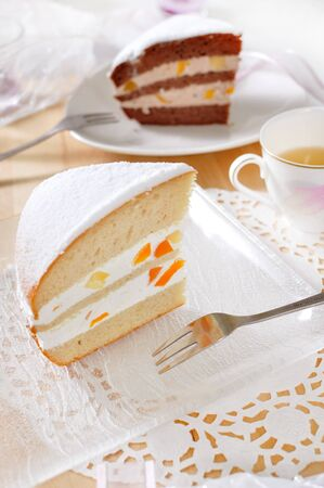 Romantic dessert time with Boston Pie