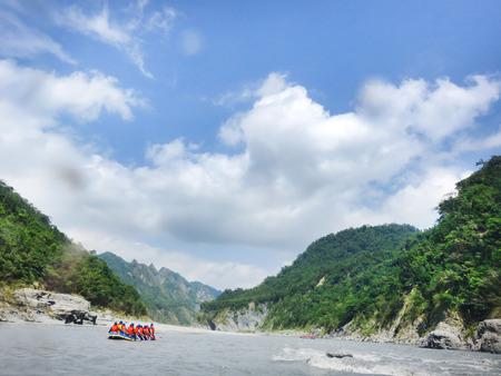 Rafting trip to Siouguluan River, Hualien, Taiwan