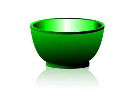 empty bowl: empty bowl on isolated background
