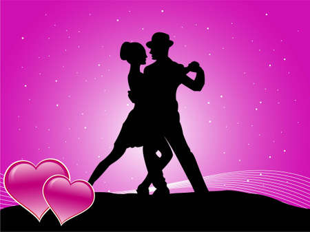 couple making love on sparkled gradient background   photo