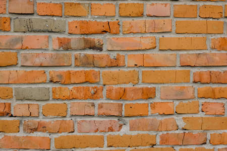 background texture brick red old wall masonry 版權商用圖片