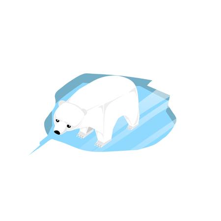 Illustration Of  Polar Bears
