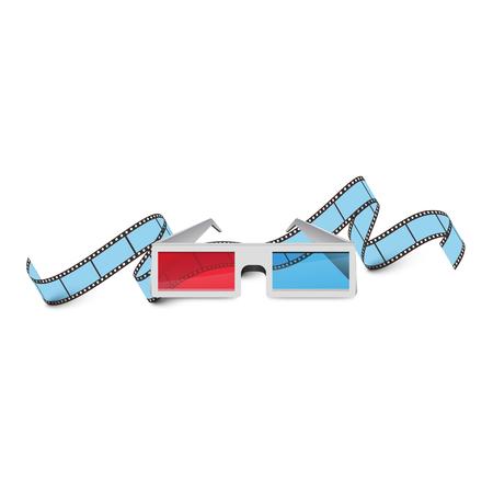 Cinema Films and 3D glasses