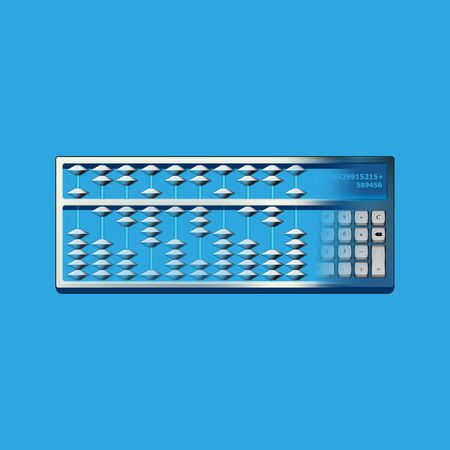 transformation concept of calculation tool from abacus to electrical calculator