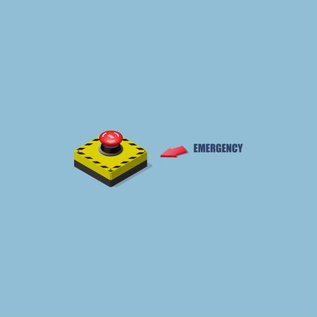 Isometric Vector Electrical Switches for the use of Emergency