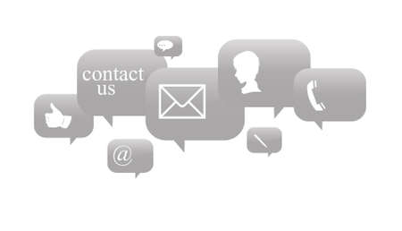 contact details: commercial contact signs for business