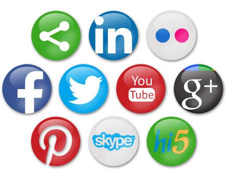 sociale netwerken tekenen