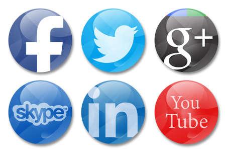 google: signos redes sociales Editorial