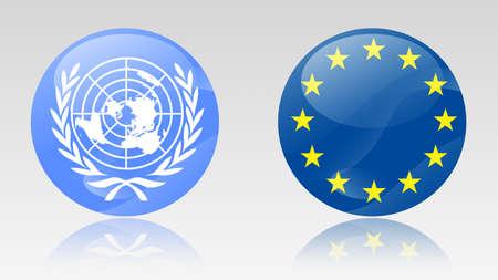 nazioni unite: Nazioni Unite e Unione europea firma