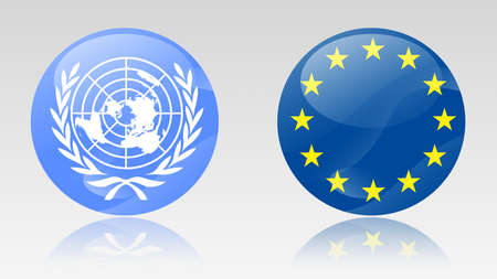 united nations: united nations and european union signs