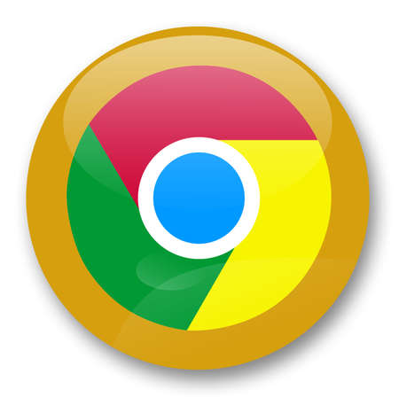 chrome web browser Stock Photo - 29440087