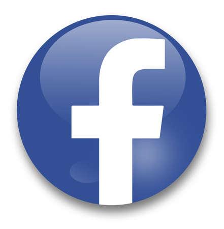 Red social facebook Foto de archivo - 29440088