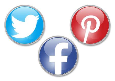 pinterest: social network signs Editorial