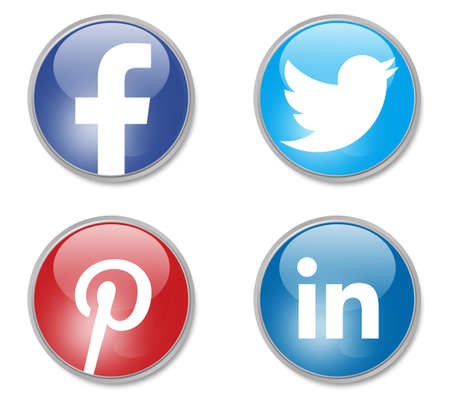 linkedin: social network signs Editorial