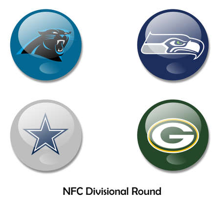 seahawks: NFL NFC ronda divisional Editorial