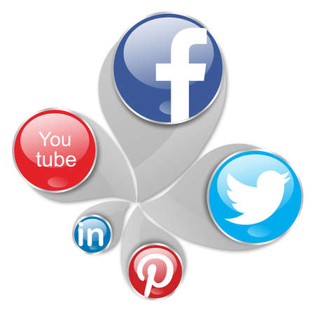 social networks,facebook,you tube,twitter,pinterest and linkedin