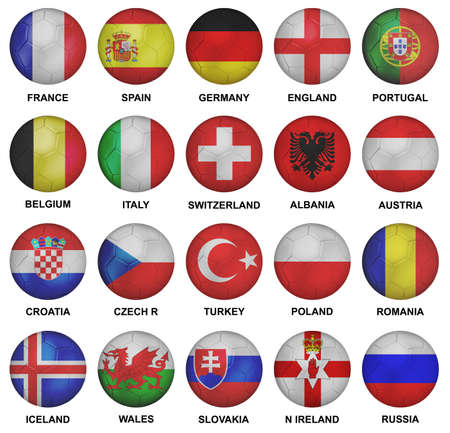 qualified soccer teams for euro 2016