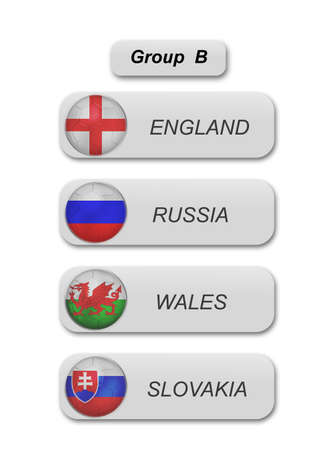 group b: euro 2016 group b in soccer