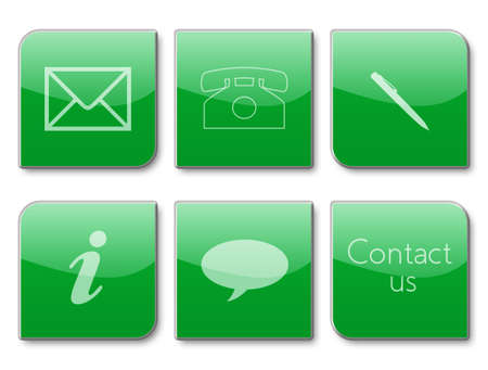 pushbutton: commercial contact signs for business