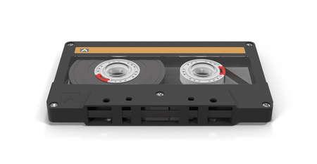 audio cassette: audio cassette tape Stock Photo