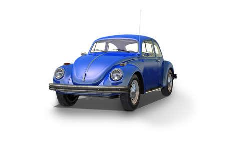 hubcaps: vintage beetle car