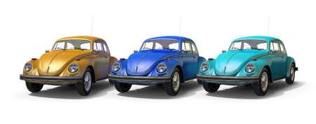 hubcaps: vintage beetle cars
