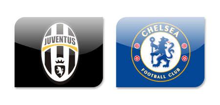 premier league: juventus vs chelsea Editorial