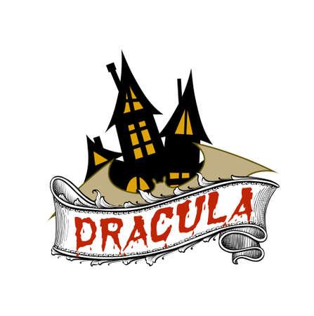 novel: Dracula is gothic horror novel by irish author Bram Stoker Stock Photo