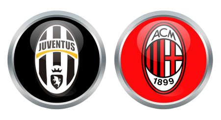 Juventus vs Milan signs