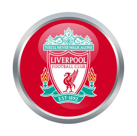 Liverpool fc sign on white