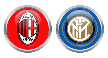 inter: Milan vs Inter signs