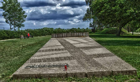 """The memorial site of the """"Westerplatte"""", at which WW II started"""
