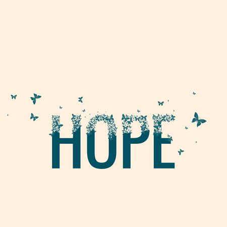 mariposas volando: La esperanza, las mariposas que vuelan de Cartas