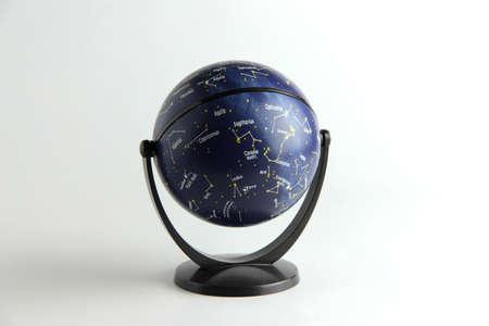 esoterismo: globo estelar Foto de archivo