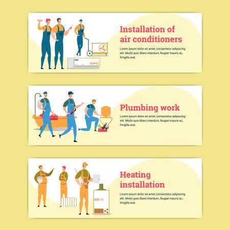 Air Conditioner and Water Heater Installation