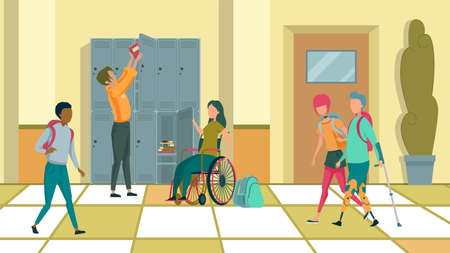 Children with Special Need in Compulsory School Illustration