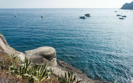 Monterosso, Cinsue Terre, Italy Фото со стока