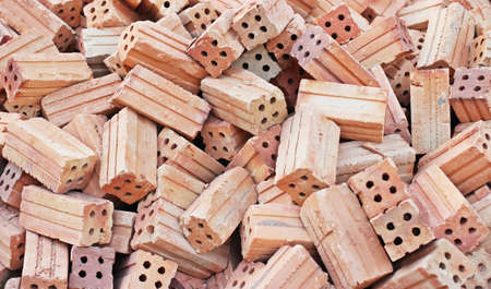 enduring: Red bricks for construction