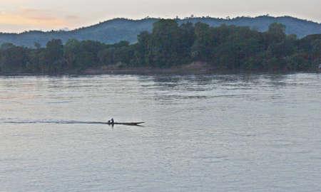 caravelle: Caravel in  Mekong River Banque d'images