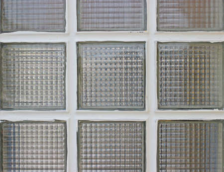 latrine: Glass block.