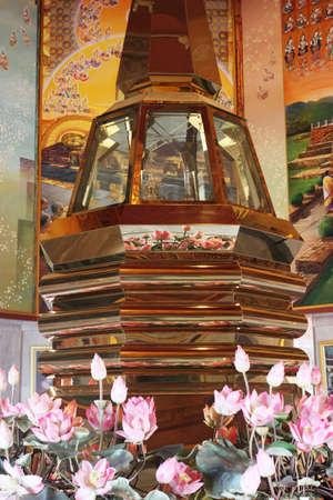 relics: The Buddha Relics Stupa.