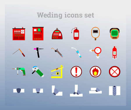Icons welding equipment and welding joints