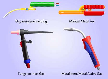 hose: Antorchas diversos métodos de soldadura