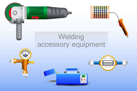 source of iron: Set of support tools for welding